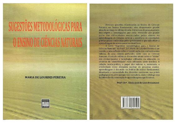Livro Pedagógico Metodologia Ensino De Ciências Naturais