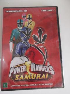 Dvd Power Rangers Temporada 18 Volume 1 Lacrado