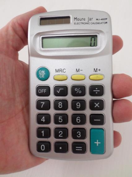 Calculadora Digital Prata 8 Digitos Moure Jar