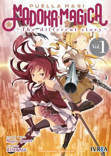 Manga Madoka Magica: The Different Story Tomo 01 - Ivrea