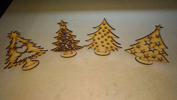Arbolito De Navidad Mdf+fibrofacil Corte Laser 300 Unidades