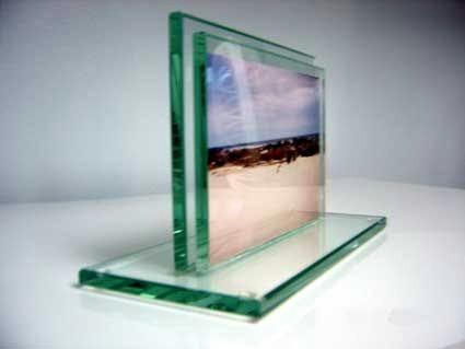 Porta Retrato De Vidro 6mm Incolor Tamanho 21×15