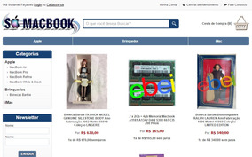 Vendo Site Www.somacbook.com.br
