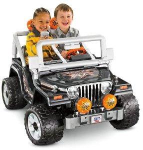 Fisher-price Power Wheels Tough Hablar Jeep Wrangler