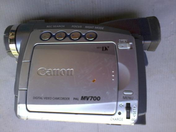Camara Digital Canon Mv700i 18 X 360 X Com Defeito