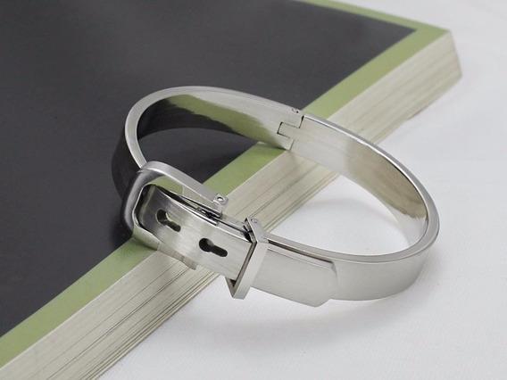 Pulseira Bracelete Feminina Cinto Titânio