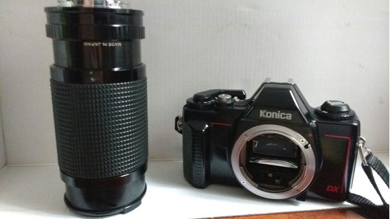 Câmera Fotografia Konica Tc X