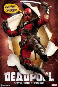 Deadpool 1/6 Sideshow