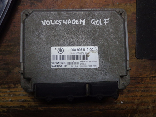 Vendo Computadora De Volkswagen Golf, # 06a 906 019 Cq