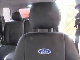Capas De Bancos Automotivos Couro P/ Ford Fiesta Hatch 2002