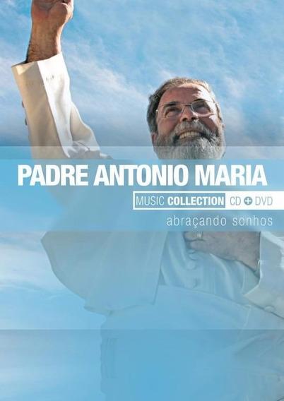 Dvd + Cd Padre Antonio Maria Abraçando Sonhos - Original