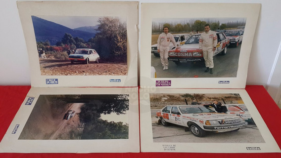 4 Fotos Antiguas Fotógrafo Rally Raúl Bellido Renault