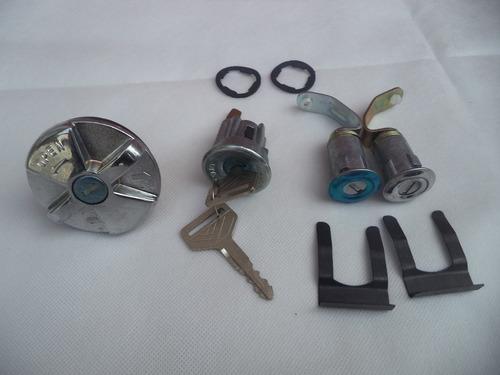 Cr Kit Cilindros Toyota 2f  Ignición Puertas Y Tapa Gasolina