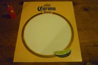 Cartel De Corona Jeans Tipo Pizarra Marcador Publicidad