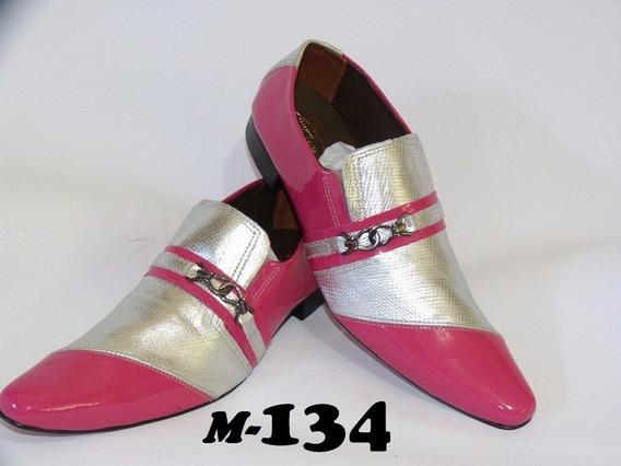 Sapato Social Artesanal Em Couro M: 130 Ao 135