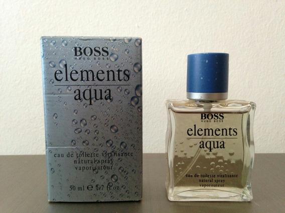 Boss Elements Aqua Vintage 50ml Raríssimo