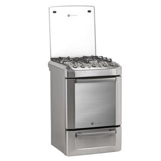 Cocina Ge A Gas 56cm Grill Electrico Cjge856ivs