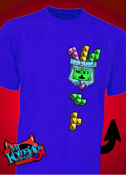 Remeras Tetris Mario Estampado Retro Gamer *mr Korneforos*