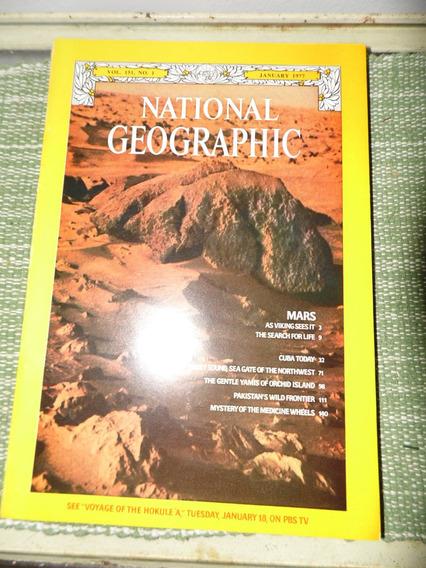 Uma Revista Americana National Geografhic Janeiro 1977