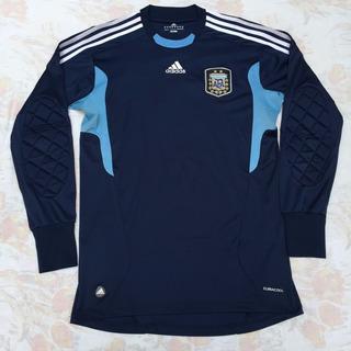 V32101 Camisa Goleiro adidas Argentina 11/12 M Fn1608