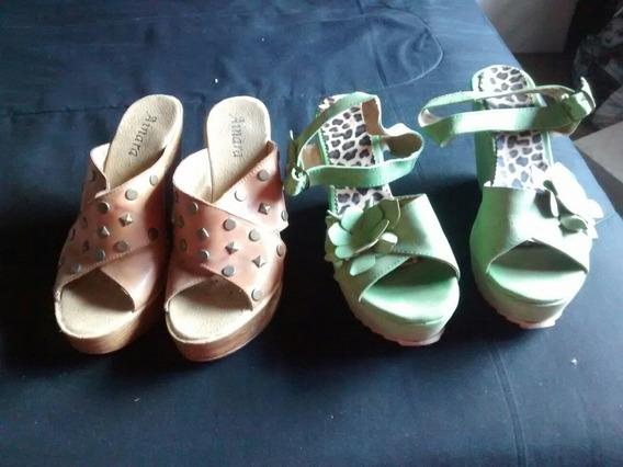 Combo 2 Pares De Zapatos N 39