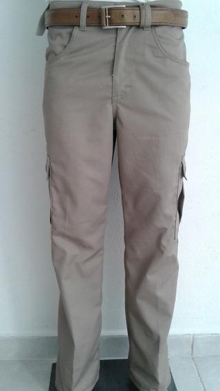Pantalon Tipo Cargo Tallas Super Extras