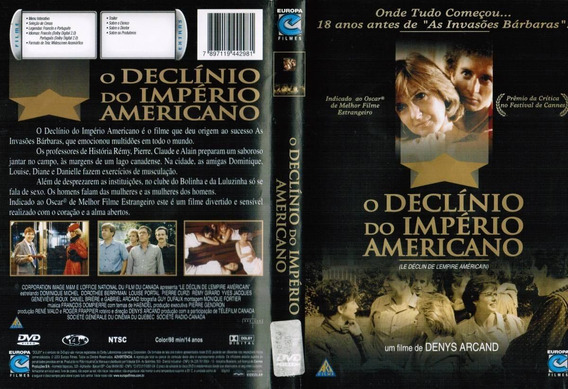 Filme Dvd Original Usado O Declínio Do Império Americano