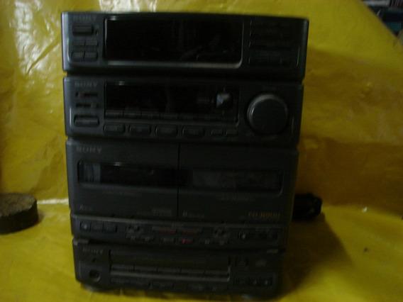 Micro System Sony Fh-b900 - Tudo Funcionando Perfeito