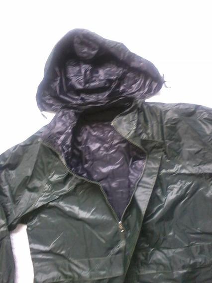 Capa Chuva Motoqueiro Gg Verde Oliva Ou Preta