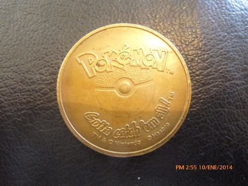 Ficha Pokemon  N° 125 Electabuzz  Nintendo Hasbro (732z