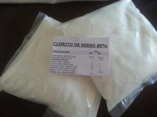 1 Kilo Clorito Sodio 80% Para Prepararlo 28%