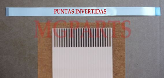 Cable Flex 24 Pines Dvd Invertido Pitch 0.5m Tipo B Ffc