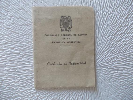 2861-certif. Nacion. Cons. España1950 Estamp Pesetas Oro