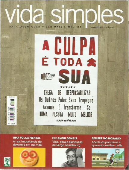 Revista Vida Simples Ed. 103