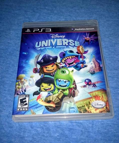 Disney Universe Ps3 M. Fisica Frete R$10