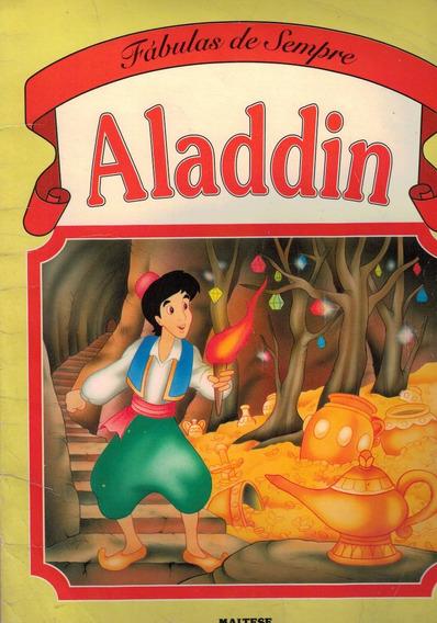 Livro Fabulas De Sempre Aladdin