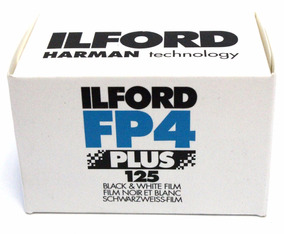 Filme Ilford Fp4 Plus 125 (36 Poses)