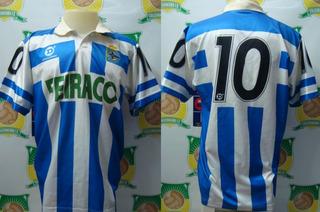Camisa Futebol La Coruna Dellerba Feiraco # 10 Anos 90