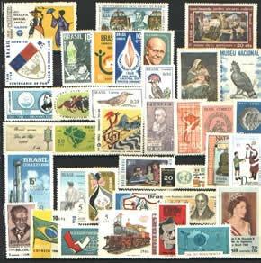 Ano Completo-1968 - 37 Selos Novos
