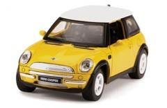 Mini Cooper Amarelo Metal Escala 1/32 - Testors