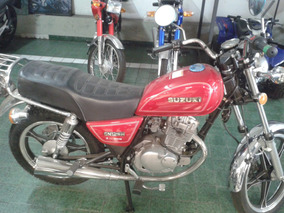 Suzuki Gn125h Rojo