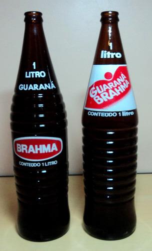 Garrafa Antiga Guaraná Brahma 1 Litro