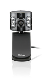Webcam Multilaser Usb C/ Microfone Preta Wc040
