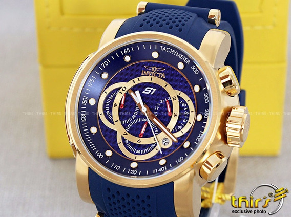Invicta Original S1 Rally 19330 Azul 52 Mm Original Thirs