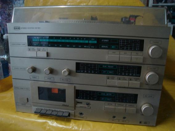 Conjto De Som 3 X1 - Cce - Ss-160 - Dourado - T.disco+radio+