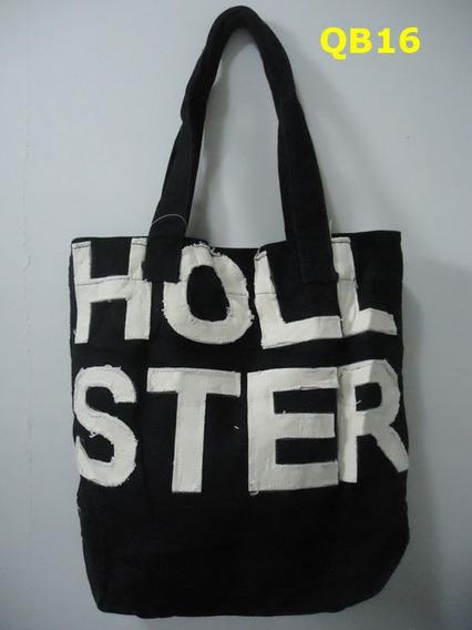 Bolsa Sacola Hollister De Tecido Femininas Originais