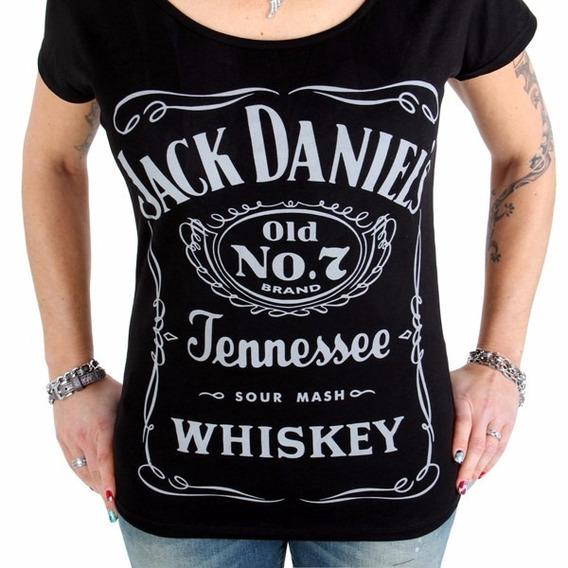 Remera Jack Daniels Chivas Jb Whisky Johnny Walker Excelente
