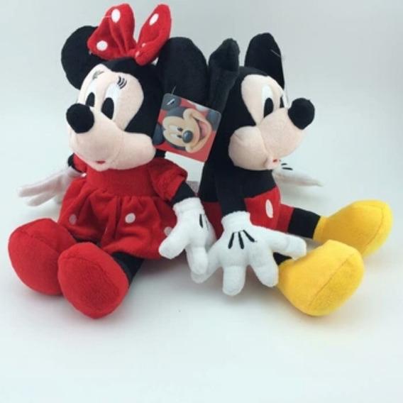 Kit Mickey + Minnie 27 Cm Maravilhosos
