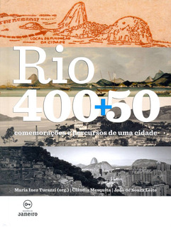 Livro Rio De Janeiro 400 + 50 Anos Aniversário Frete Grátis