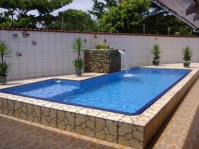 Casa Itanhaem C/piscina 3 Quarto 4 Banheiros 10 Vagas Carros
